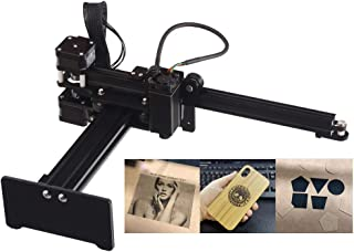 Laser Engraving Machine for Wood Plastic Leather Rubber Metal Carving Logo Picture Marking Working Area 150x150mm Engraving Accuracy 0.075 mm 3500mW