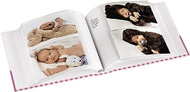 """Hama Album photo """"Moni"""" (pour 200 photos au format 10 x 15 cm, petit album de taille 22,5 x 22,5 cm, album photo bébé"""