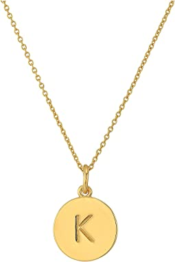 Kate Spade Pendants K Pendant Necklace