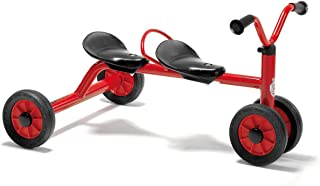 Winther Mini Viking Push Bike for Two (Red)
