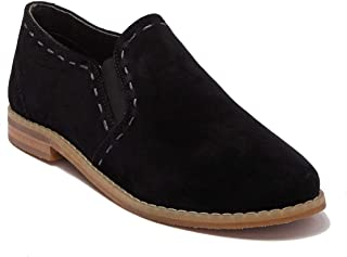 Hush Puppies Womens Cami Slip-on Shoes Color Name Black Suede Size 7