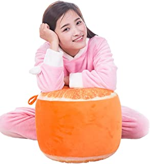 Inflatable Chair, Botitu Funny Fruit Design Inflatable Stool Bearing 220 lb Bean Bag Chair for Adults, Teens and Kids, Perfect for Indoor and Outdoor Use Inflatable Seats+Free inflator