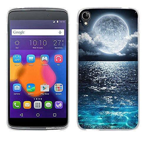 FUBAODA One Touch Idol 3(5.5 inch) Hülle Hülle, [Supermond] Ultra-Clear for für Alcatel One Touch Idol 3(5.5 inch) Silikon Soft TPU Premium Handyhülle Slim für Alcatel One Touch Idol 3(5.5 inch)