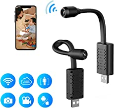 Smallest Mini WiFi Spy Hidden Camera,RETTRU 1080P Portable Wireless Small HD Nanny Cam with Motion Detective,Perfect Indoor and Outdoor Tiny Covert Security Camera for Home,Office and Car Inside
