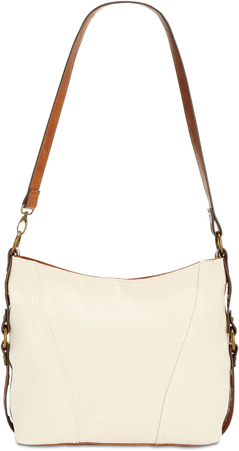 Style & Co. Womens Contrast Trim Slouchy Hobo Handbag