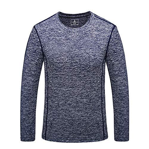 HOSD Camiseta de manga larga para hombre al aire libre para pareja deportiva a través de la camiseta
