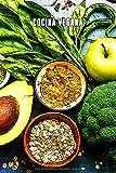 COCINA VEGANA: Cuaderno inspirador para llevar una vida sana. Ideal para apuntar tus sabrosas recetas veganas. 110 páginas.