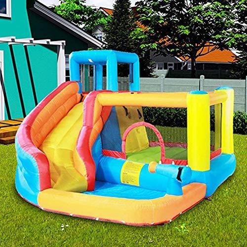 Aufblasbare Hüpfburgen Mit Wasserrutsche Riesen Inflatables Slides Mit Pool
