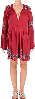 Free People Women's Te Amo Embroidered Peasant Mini Dress