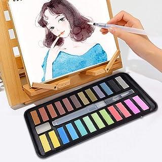 Pintura de Acuarela, Pigmento Soluble en Agua, con Cepillo d