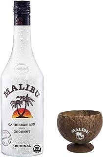 Malibu Coconut 1,0 Liter incl. Kokosnussbecher PiHaMi