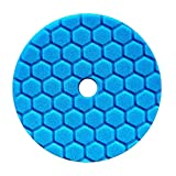 Chemical Guys 14 cm Hex Logic Quantum Bleu Polissage/Finishing Pad – bufx115hex5