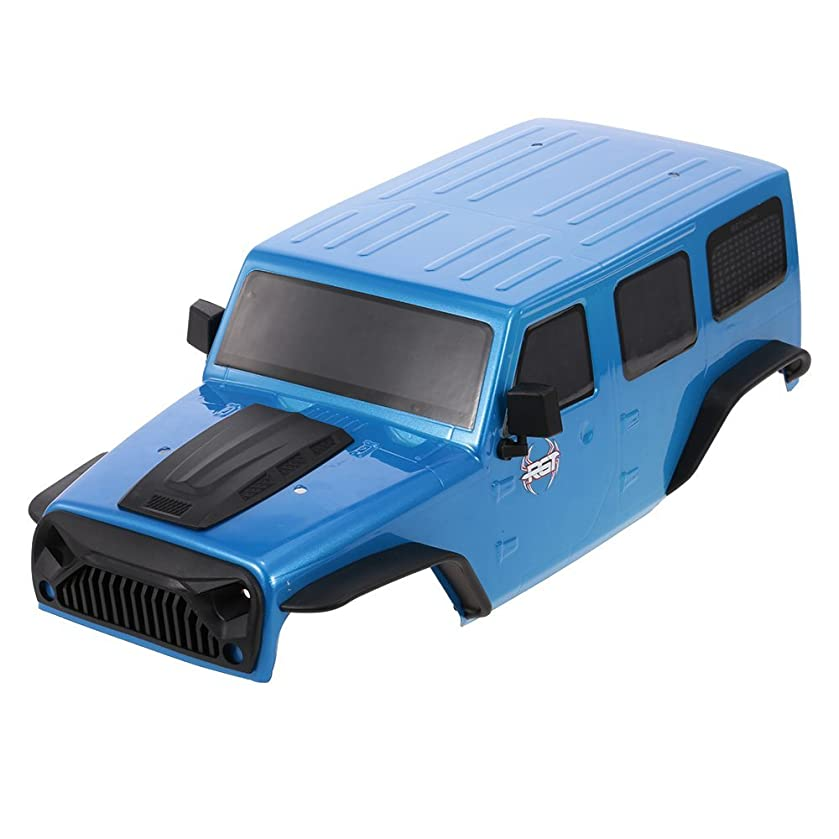 Goolsky RGT Body Shell for 1/10 RGT 86100 HSP HPI Traxxas Redcat RC4WD Tamiya Jeep Wrangler RC Crawler Car DIY