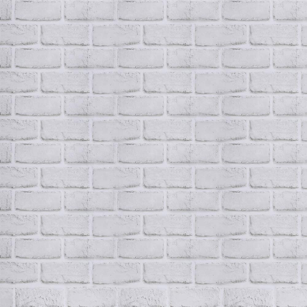 Amazon Com White Brick Wallpaper Self Adhesive Peel And Stick 17 71in X 118 In Removable Easy To Clean Festival Events Decoration Home Diy Project Furniture Renovation Tools Home Improvement
