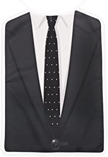 Barney Stinson's The Classic Brobib, as seen on How I Met Your Mother Black and White