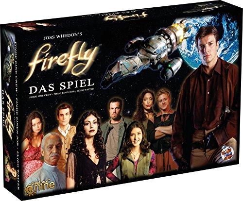 Asmodee HE559 - Firefly - Das Spiel - Deluxe Version