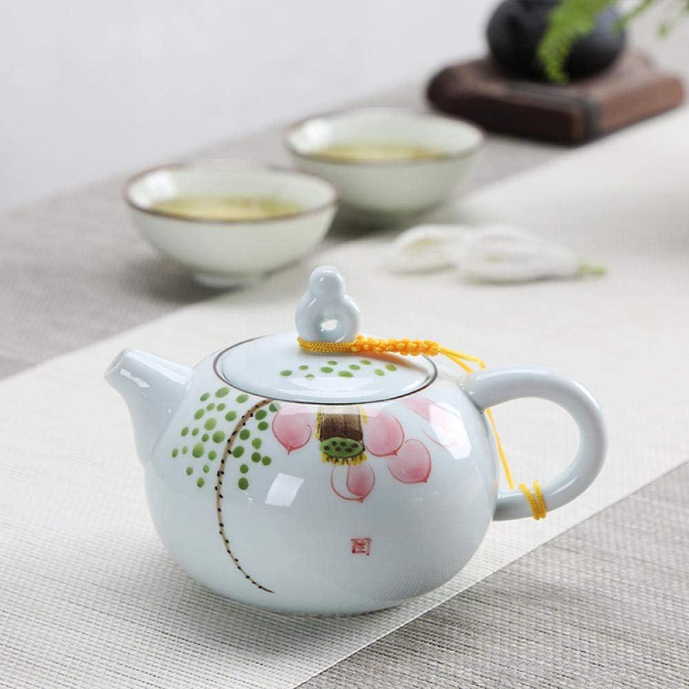 lowest price Blue and Baltimore Mall white porcelain teapot setcerami maker KungFu tea