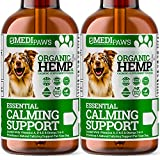 MediPaws® Hemp Oil for Dogs Twin Pack (x2) | Dog Calming...