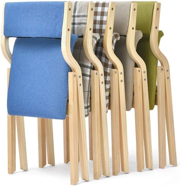 YJT.cy Chaise de Salle à Manger Dossier Loisirs siège chaises Cuisine Salon Doux rembourré en Bois Housse Amovible et Lavable (47,5 × 55,5 × 80 cm) 4 Couleurs #1
