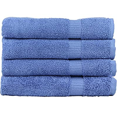 Zachary Collection Elegant Ultra Absorbent Bath Towel Set [4 Pack]