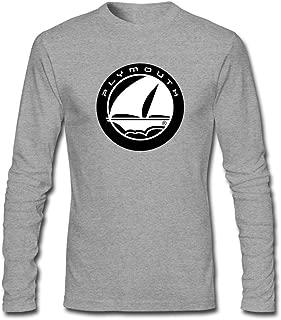 Men's Plymouth Logo Long Sleeve T-Shirt