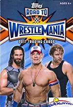 2017 Topps WWE Road to Wrestlemania HUGE Factory Sealed HANGER Box with 42 Cards includes (5) EXCLUSIVE RTW Cards! Look for Cards,Relics & Autographs of WWE Superstars Sting, Jon Cena,Ric Flair & More