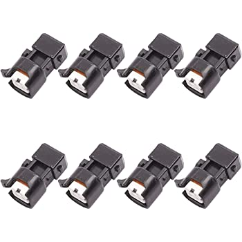 Lock Seals Connector Terminals WAINJ33 ICT Billet Wire Harness Adapter Compatible with Mini Delphi Multec 2 Harness Jetronic EV1 Fuel Injector OEM Tooling
