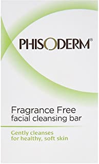 pHisoderm Facial Skin Cleansing Bar, Fragrance Free 2pack [2 x 3.3oz bars] (Pack of 5)