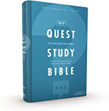 NIV, Quest Study Bible, Hardcover, Blue, Comfort Print: The Only Q and A Study Bible PDF