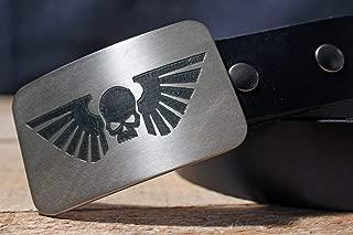 Warhammer 40K IMPERIAL GUARD Etched Metal Belt Buckle
