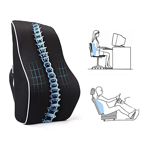 Admirable Desk Chair Lumbar Support Cushion Amazon Com Pdpeps Interior Chair Design Pdpepsorg