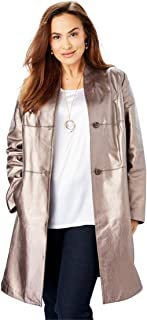 84b1bae8089 Amazon.com  Plus Size - Leather   Faux Leather   Coats