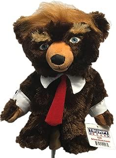 Trumpy Bear Golf Driver Head Cover