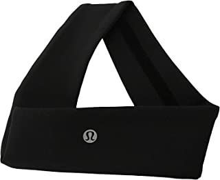 Lululemon Fly Away Tamer Headband II (Black Luxtreme)