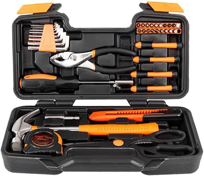 JJCF 39-Piece Tool Kit for Home A surprise price is realized Hand Max 40% OFF Household General Set