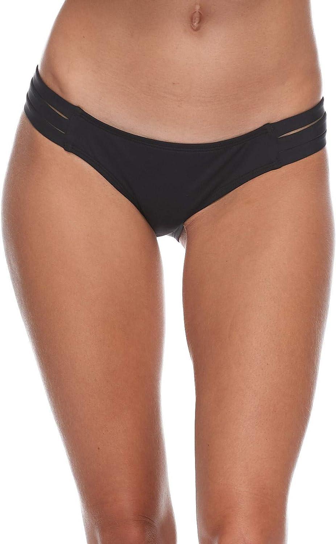 代引き不可 直営限定アウトレット EIDON Women's Low Rider Mid Bottom Rise Swimsuit Bikini
