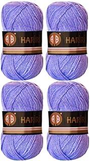 4X AB Hariri Light Purple Lilac Colour No.1036 Crochet and Knitting Yarn