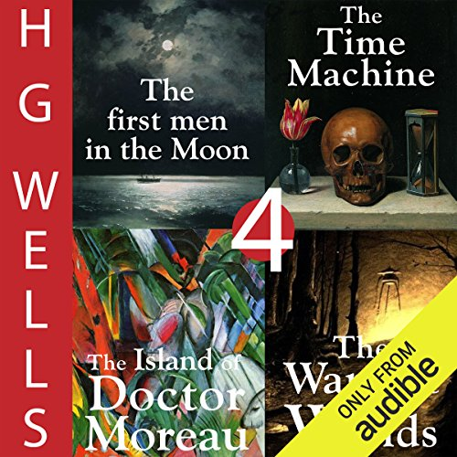 H. G. Wells Sci-Fi Omnibus: Four Great Novels                   Written by:                                                                                                                                 H. G. Wells                               Narrated by:                                                                                                                                 Greg Wagland                      Length: 23 hrs and 18 mins     2 ratings     Overall 4.5