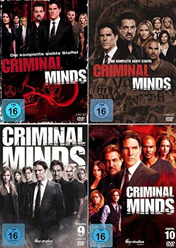 Criminal Minds - Die komplette 7. - 10. Staffel (20-Disc | 4-Boxen)