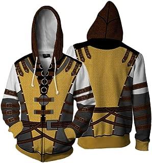 Men Scorpion Jacket Sweatshirts Mortal Kombat Zipped Hoodies Coat