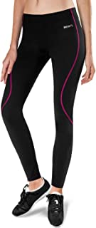 BALEAF Women's Thermal Cycling Tights Fleece-Lined Athletic Bike Pants Compression Tights