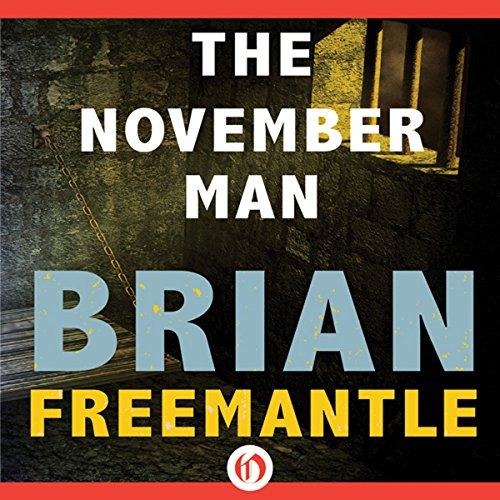 November Man audiobook cover art