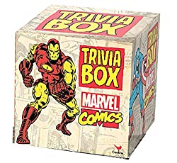 35 Amazing Marvel Gift Ideas featured by top US Disney blogger, Marcie and the Mouse: Marvel trivia box game