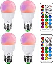 light bulbs change color