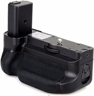 Meike Agarre vertical de la batería Empuñadura MK-A6300 Soporte externo para la cámara Sony Alpha A6300 A6000 trabaje con la batería NP-FW50 para reemplazar el paquete de Sony A6300 A6000