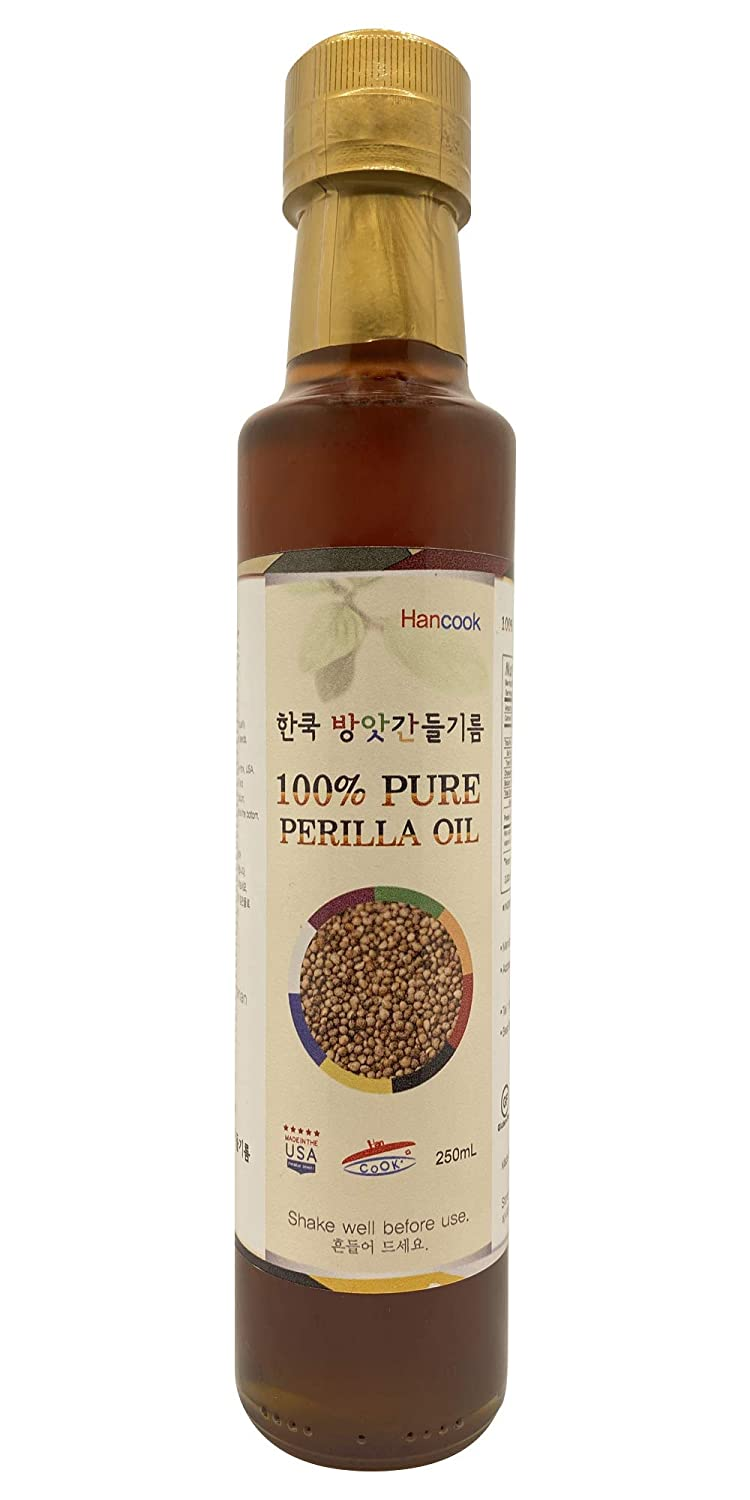 HANCOOK Industry No. 1 PERILLA OIL New product! New type KOREAN 들기릠PURE OWNED 100%