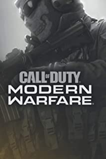 Call of Duty Notebook: (Modern Warfare ) A Gamers Notebook! 120 pages. 6x9.
