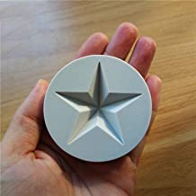 Bake Pan Separate 5-pointed Star Silicone Mold, Cake Decoration Tools, Party Tools SQ1703-