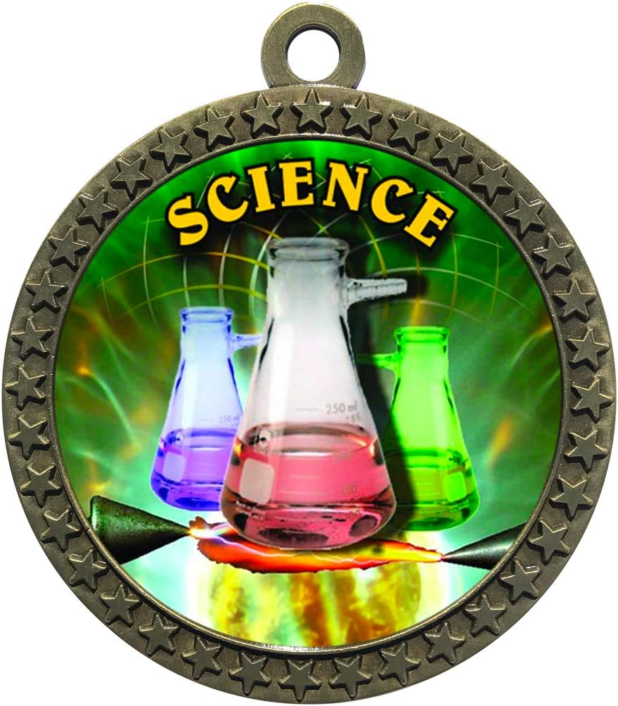 Express Medals 1 to 50 Industry No. Packs Award wit Gold Under blast sales Science Trophy Medal