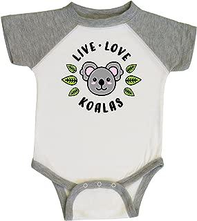 inktastic Live Love Koalas Infant Creeper